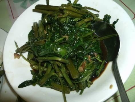 River Spinach Delicacy
