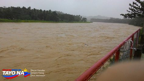 Strong Current of Marinduque River