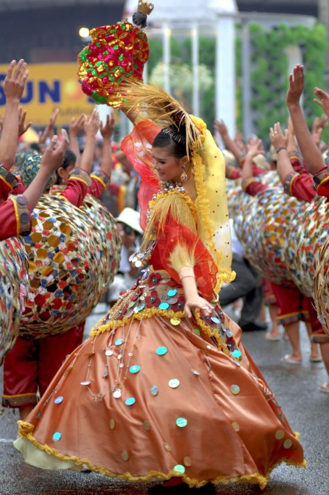 Sinulog Dance. Two Steps Forward and One Step Backward. Photography by Orlanie Lozano