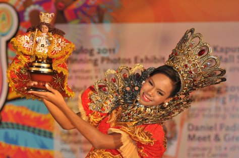 The Queen Is Dancing With Senior Santo Nino